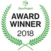 Newz Hook is thrilled to win Zero Project Award 2018