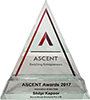 Newz Hook is thrilled to win Ascent Awards 2017