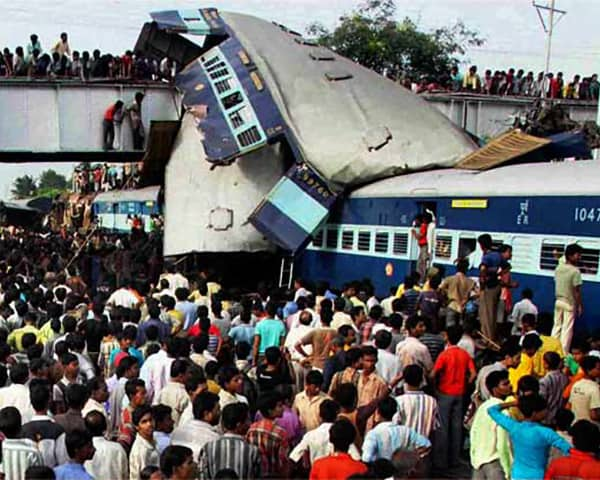 Image of hyderabad train accident