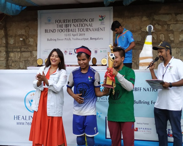 Bethany Society Shillong are champs at the 4th national blind