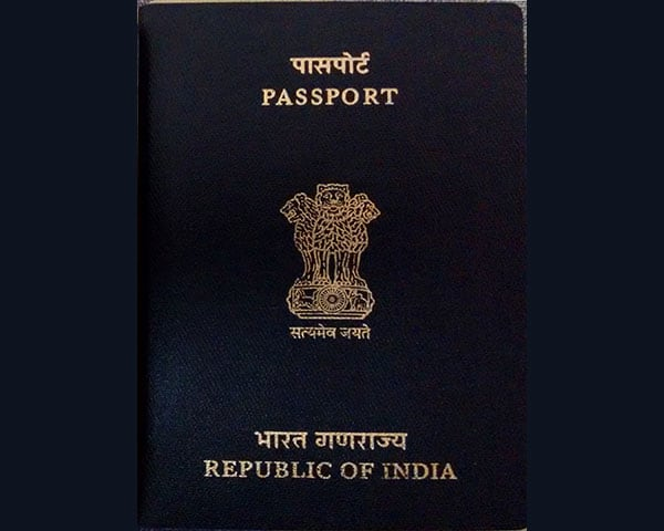 Images of Indian passports