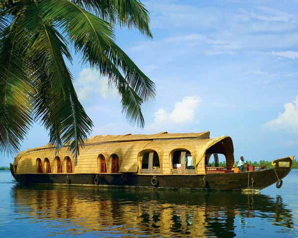 Image of Kerala backwaters
