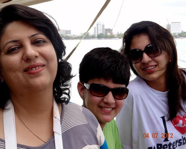 Anupama, Pranav and Nikita Bakhshi.