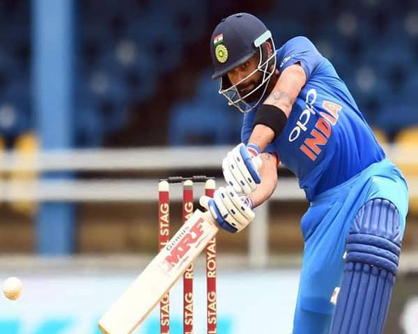 Virat batting