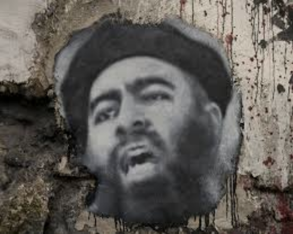 Image of Al Baghdadi, the killed leader of the Islamic State
