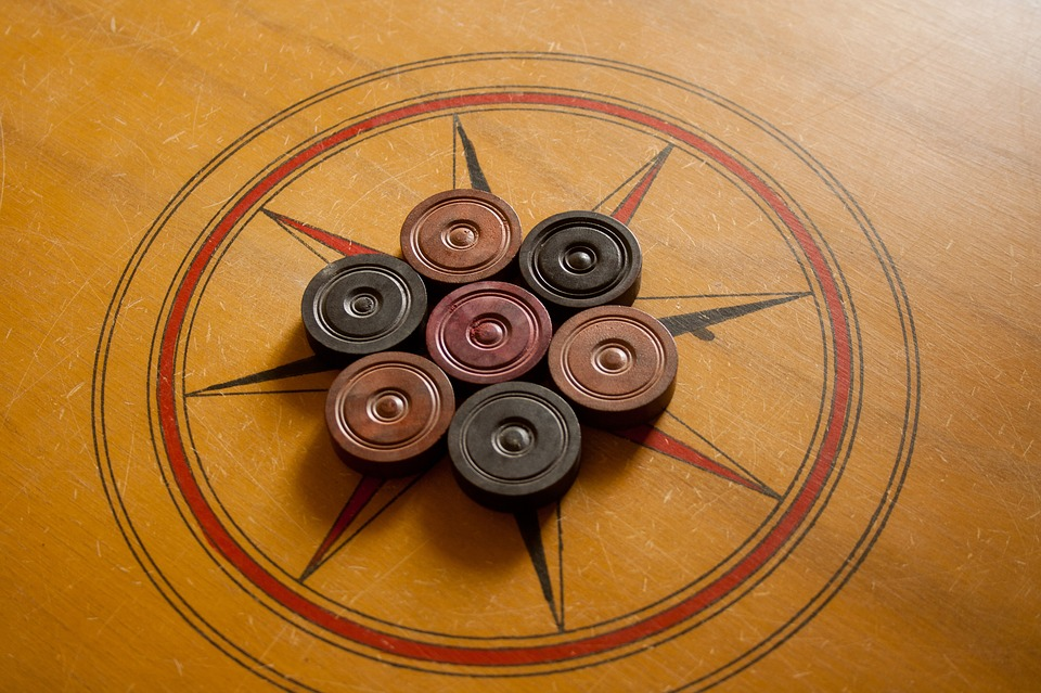 image of carrom board