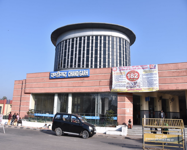 Image of Chandigarh railway station