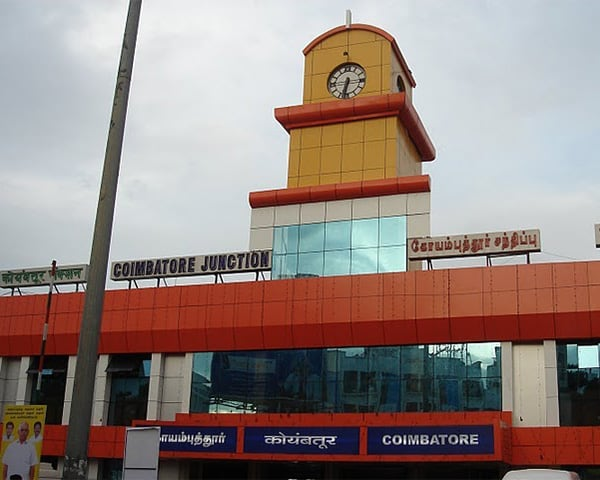 Image of coimbatore railway station