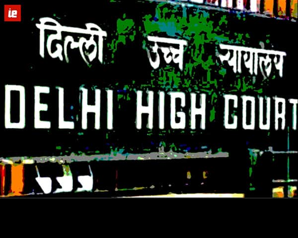 sign board saying Delhi high court