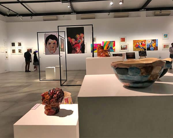 Image of e capa exhibition