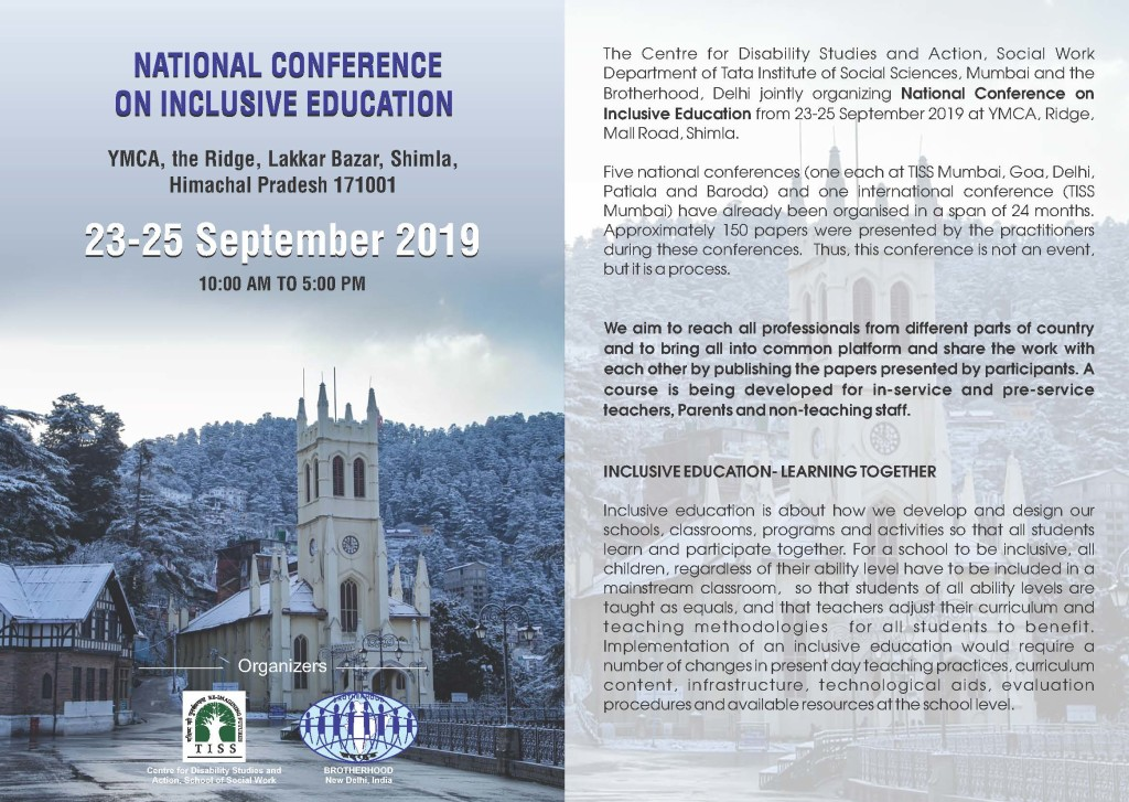National conference on Inclusive Education