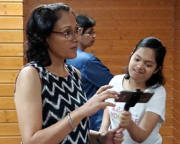 Image of Shalini Gupta and Gayatri