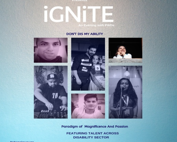 An image of the event ad with pictures of artists performing at iGNITE