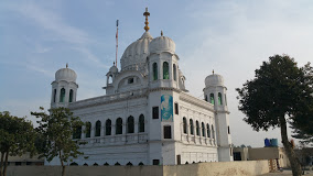 the shrine at Kartarpur