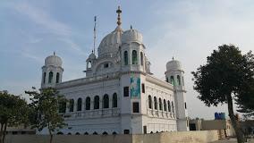 the shrine at Kartarpur