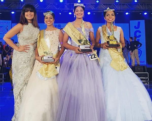 Image of Miss Kerala special 2019 winners