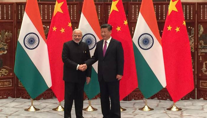 Image of xinping and modi