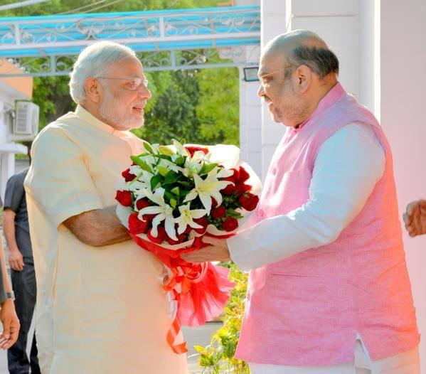 Image of Modi and Shah