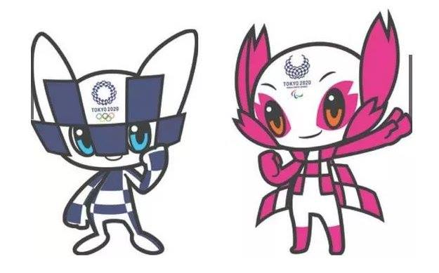 Image of Tokyo paralympics 2020 mascots