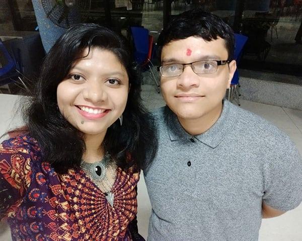 Image of Rashmi and Jaitn