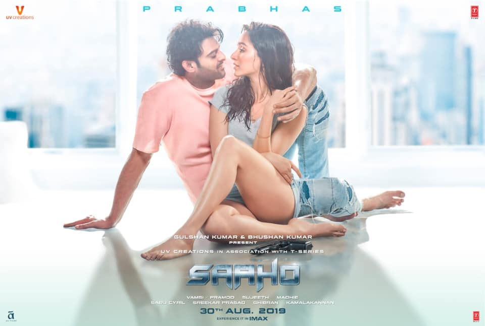 Image of Saaho poster