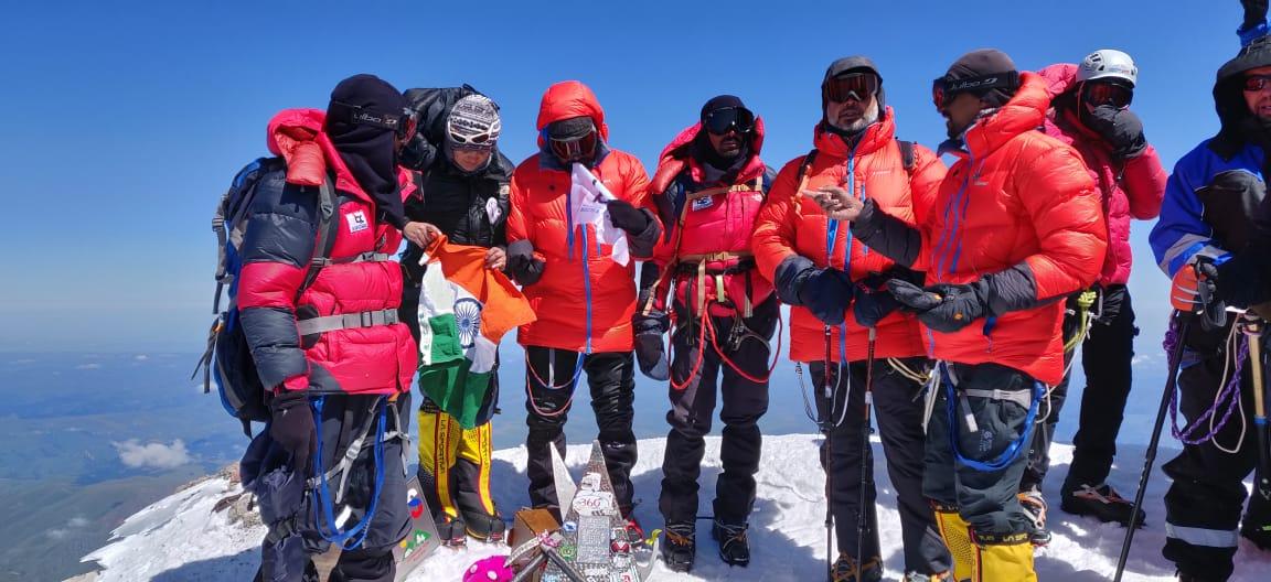 Image of Sekhar goud trekking
