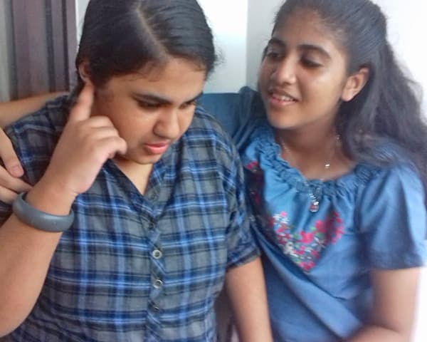 Image of sherin and shreya