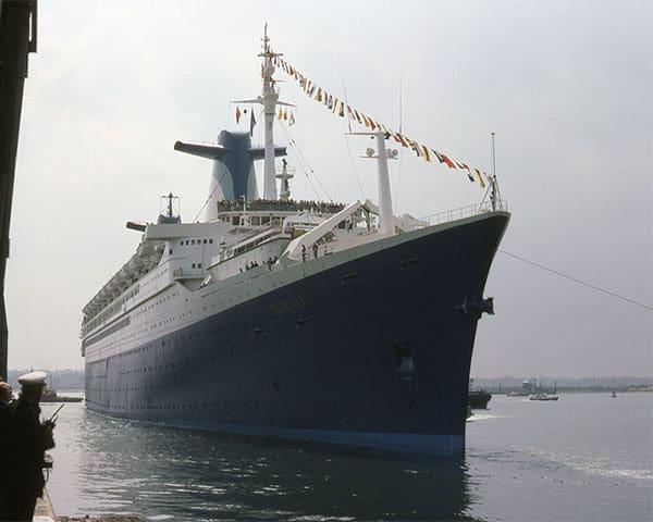 Ships on coast