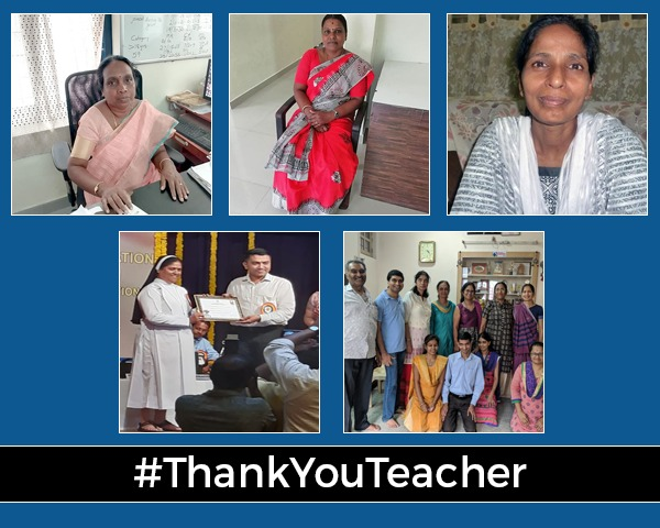Montage of images of teachers mentioned in article