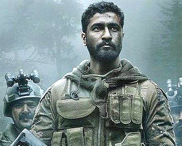 Vicky Kaushal on poster of uri