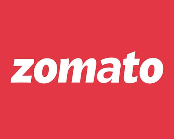 Image of zomato logo