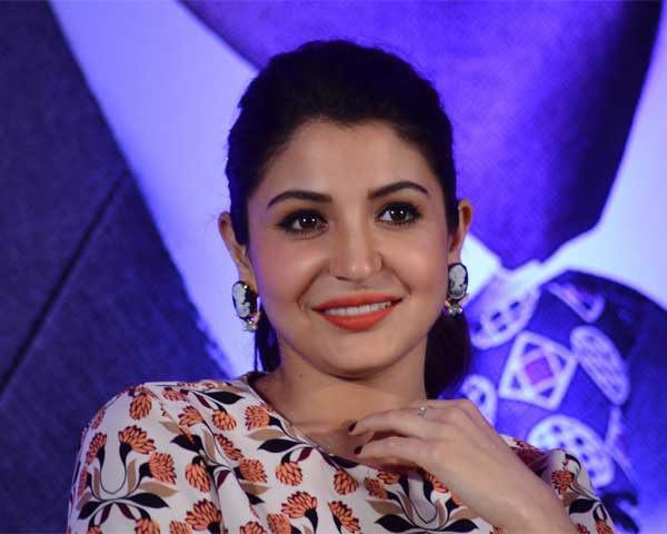 Close up of Anushka Sharma