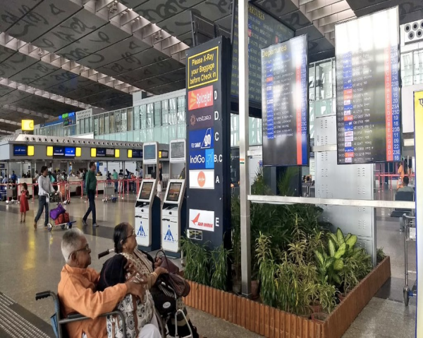 Picture of Kolkata airport