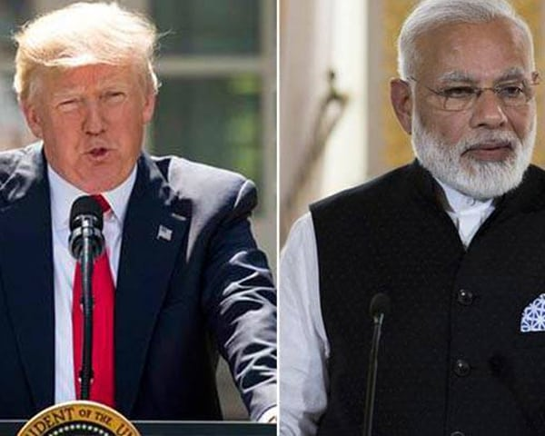 donald trump and PM MOdi