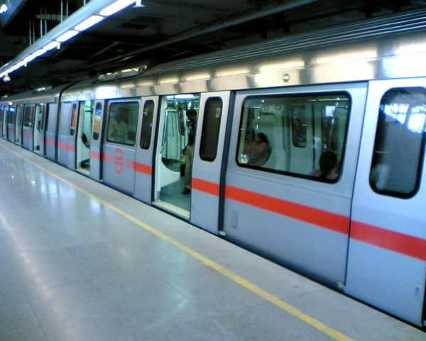 Delhi metro coach