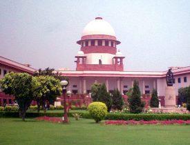 Exterior shot of Supreme Court