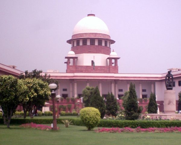 Exterior image of Supreme Court of India