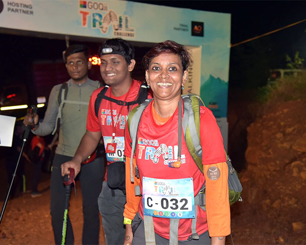 Anusha Subramanian, mountaineering guide with Sanket Bhind