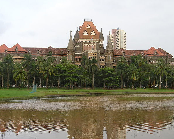 Exterior shot of Bombay High Court