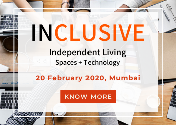 Know more about Inclusive Conference on 20th February, 2020 focusing on Independent Living - Spaces + Technology in Mumbai!