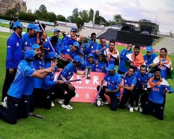 India's physically disabled cricket team