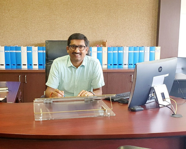 P Narahari, IAS officer, Madhya Pradesh