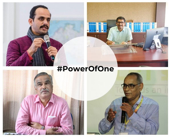 collage of people featured in powerofone