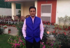 Sanjeev singh standing with hands in pocket