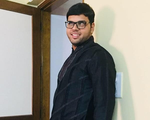 Tapas Bharadwaj, visually impaired law student