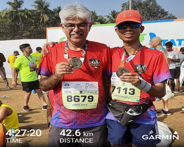 Varun Sawant and Kaushik Bhatia