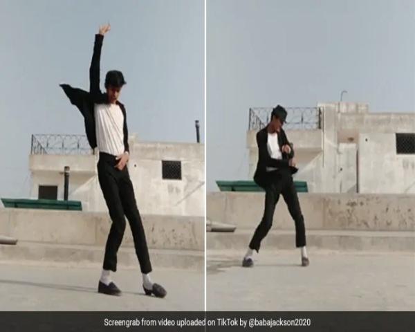 TikTok star Yuvraj Singh dancing