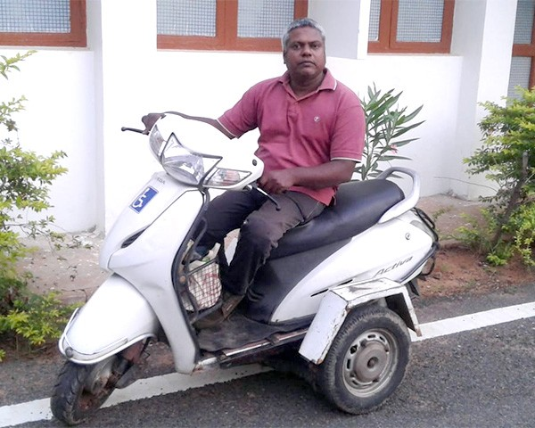 disability rights activist kamaraj m