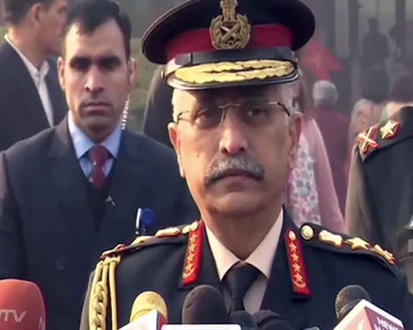 General Manoj Naravane, Indian Army chief