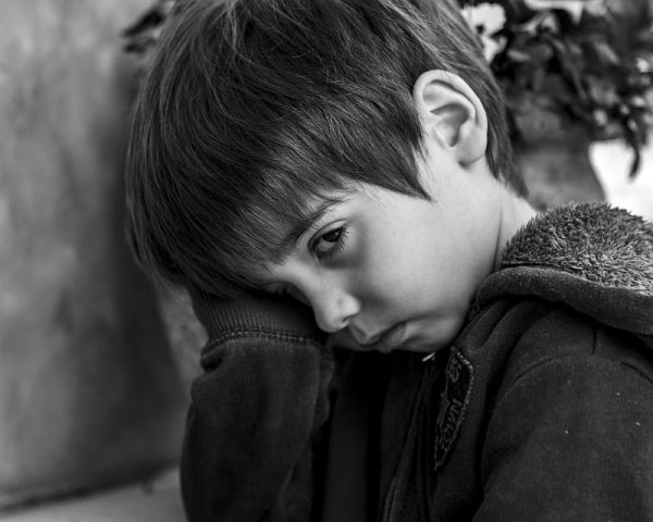study on child depression